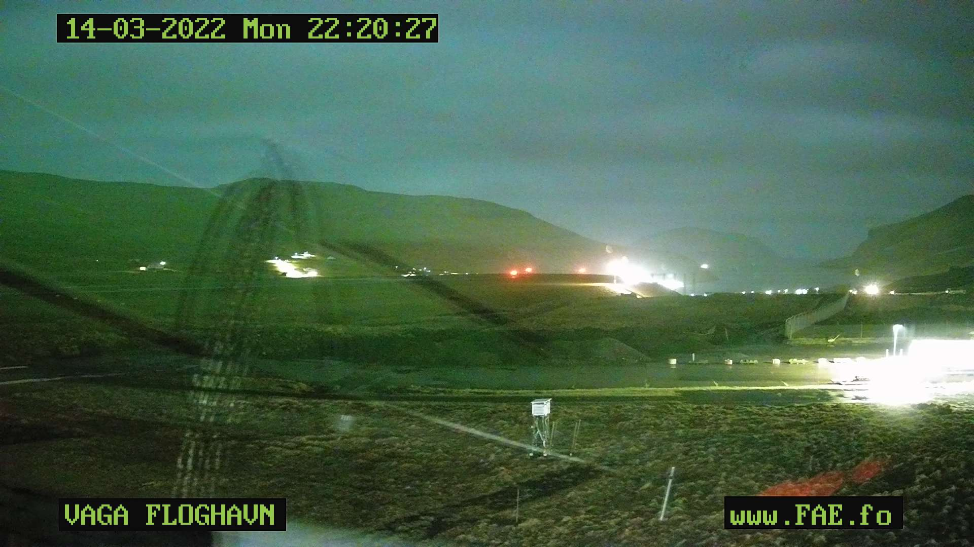 Webcam Vatnsoyrar - Airport Live webcamera